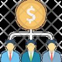 Employee Benefits Employee Wages Employees Salaries Icon