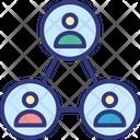 Employees Lower Position Subordination Icon
