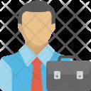 Employer Businessman Entrepreneur Icon