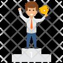 Employer Trophy Award Icon