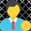 Employment Business Investor Icon