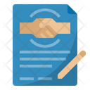 Employment Contract Contract Agreement Icon