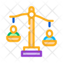 Employment Scales Justice Icon