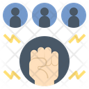 Empower Power Motivation Icon