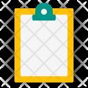 Empty Clipboard Copy Icon