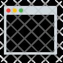 Empty App Window Icon