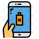 Battery Low Smartphone Icon