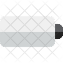 Empty Battery Low Battery Recharge Battery Icon