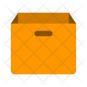 Empty Box Parcel Icon