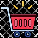 Iempty Cart Empty Cart Empty Trolley Icon