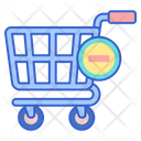 Empty Cart Empty Trolley Shopping Trolley Icon