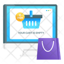 Remove From Bucket Remove Product Empty Cart Icon