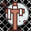 Empty Cross Icon