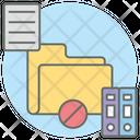Empty Folder Empty File Archive Icon