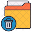 Deleted Directory Files Icon