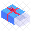 Gift Box Gift Package Empty Gift Box Icon