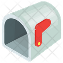 Mailbox Cartoon Residential Icon
