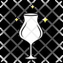 Empty Wine Glass Icon