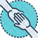 Enablers Endorsement Hand Icon