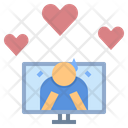 Encourage Online Bullying Icon