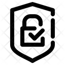 Encriypted Locked Protection Icon