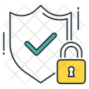 Encrypted Secure Shield Icon