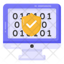 Encrypted Binary Code Icon