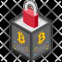Encrypted Blockchain Icon