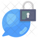 Encrypted Chat Secure Chat Secure Communication Icon