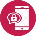 Encrypted Chat Private Message Secret Chat Icon
