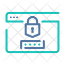 Encrypted Data Website Authentication Icon