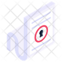 Encrypted Document Icon
