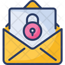 Encrypted Locked Private Icon