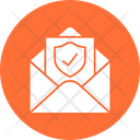 Encrypted Email Private Email Safe Email Icon