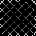 Key Cryptocurrency Blockchain Icon