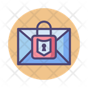 Iencrypted Email Encrypted Mail Mial Security Icon