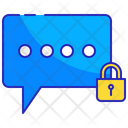 Encryption Messaging Bubble Icon