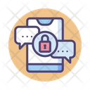 Iencrypted Messaging Encrypted Messaging Mobile Message Security Icon