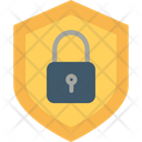 Encryption Firewall Lock Icon