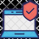 Encryption Laptop Laptop Access Icon