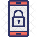 Encryption Lock Mobile Icon