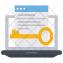Encryption File Access Document Icon