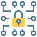 Encryption Key Lock Icon