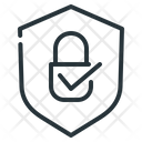 Blockchain Encryption Secure Icon