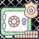 Locker Safe Box Bank Locker Icon