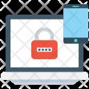 Mobile Encryption Lock Icon