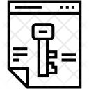 Encryption File Access Icon