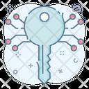 Digital Key Encryption Key Access Key Icon