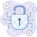 Lock Cyber Security Icon