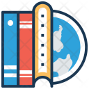 Worldwide Education Elearning Icon